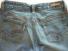 Dollhouse juniors size 5 stretch low rise boot cut denim blue jeans