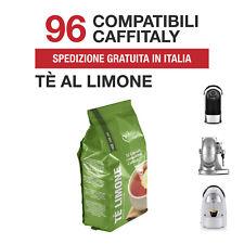 96 Capsule Tè al Limone Italian Coffee compatibili Caffitaly