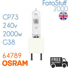 Stage and Studio CP Lamp Cp73 FKK 2000w 240v G38 by OSRAM MPN 64789