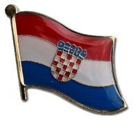 Croatia Flag Lapel Hat Pin FAST USA SHIPPING