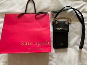 Kate Spade cat cross-body phone bag BNWOT