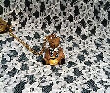 Heart Shaped Tea Ball Infuser  with Honey Bear Charm