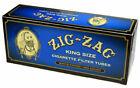 Zig Zag Blue Light Filter Tubes King Size KS 5 Boxes of 200 Tubes 1000 Tubes