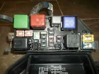 1996 96 toyota camry engine fuse relay box block under hood oem