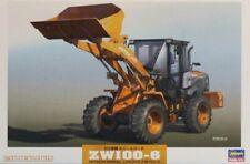 Hasegawa 1:35 Hitachi ZW100-6 Wheel Loader Plastic Model Kit #66004