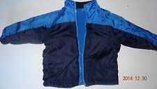 Boy's blue reversible jacket. Size 18 months. By Faded Glory