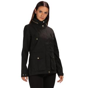 Regatta Nadalia Coat Womens Black Size UK 20 *REF177