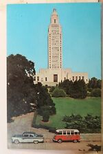 Louisiana LA Baton Rouge State Capitol Postcard Old Vintage Card View Standard