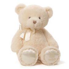 """BABY GUND BEAR -  18""""  MY FIRST TEDDY  - GENDER NEUTRAL CREAM  - #4056250"""