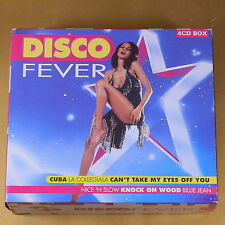 [AT-108] CD - DISCO FEVER - 4CD BOX - 1999 BIEM/STEMRA - OTTIMO
