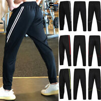 Mens Sweatpants Compression Dry Tights Long Trousers Tracksuit Workout Joggers A