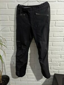 Patagonia Men's 3 Layer Gore Tex Shell Pants - Black M