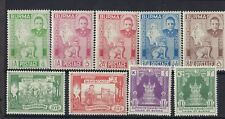Burma QEII Mounted Mint Collection