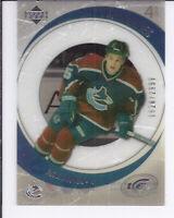 2005-06 Upper Deck Ice Canucks Hockey Card #234 Rick Rypien Rookie