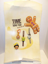 McDonald's Happy Meal Toy Promotional Promo Display Shrek Watches Complete