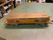 American Flyer Wide Gauge - 4022 Flatcar with Lumber Load