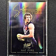 2020 Footy Stars Prestige NAT FYFE Showstoppers Gold 007/40 #6