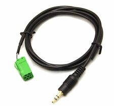 Cable adaptateur mp3 autoradio RENAULT UPDATE LIST 6 pin iphone ipod twingo 2