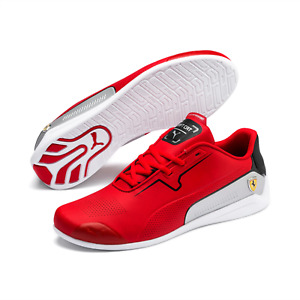 Puma Scuderia Ferrari Drift Cat 8 Trainers in Red and White