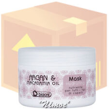 Hydrating Mask box 24 pcs x 250ml Argan & Macadamia Biacrè ® Nourishing all hair
