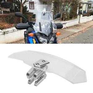 Universale Moto Parabrezza Spoiler Deflettore Per Honda Kawasaki Suzuki ecc