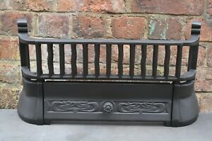FIREPLACE BARS FIRE FRONT FIREPLACE FRET CAST IRON REPLACEMENT