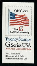 SCOTT 2885 BOOK 223 G SERIES WITH RED G MNH OG VF CAT $19!