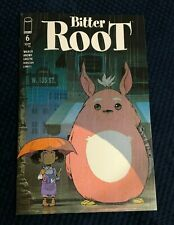 """Bitter Root #6  PowerCon """"My Friend Totoro"""" Variant by Sanford Green SHIPS FREE!"""