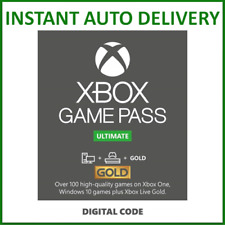 Xbox Live Gold & Game Pass Ultimate Membership 1, 2, 3, 6, 12 Month, 14 Days