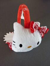 NEU Hello Kitty Ohrwärmer Ohrenschützer Ear Muffs Kawaii Japan Rot Weiß Primark
