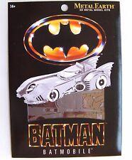 METAL EARTH 3D MODEL KIT - D C COMICS BATMAN BATMOBILE 1989 - NEW & SEALED!