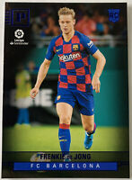 2019-20 CHRONICLES SOCCER PANINI LA LIGA BLUE FRENKIE DE JONG #423 Barcelona