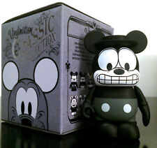 """DISNEY VINYLMATION 3"""" CLASSIC COLLECTION SERIES MICKEY MOUSE BLACK & WHITE TOY"""
