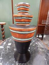 Vase Boch Frères Catteau Art Deco Forme et décor rare