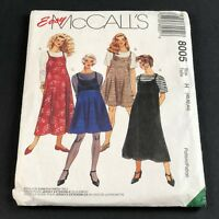 McCalls Vintage Sewing Pattern #8005 Womens Slipdress and Top Sizes 40 42 44