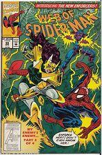 Web of Spider-Man #99 1st NIGHTWATCH 9.4 NM Villain SPAWN Knockoff