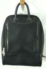 Samsonite Black Leather Backpack Travel Messenger Bag