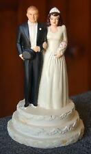 CHARMING CIRCA 1940 COAST NOVELTY BRIDE GROOM WEDDING CAKE TOPPER