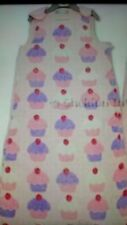 CUP CAKE Super Soft 0-6 Months Baby FLEECE Grobag Sleeping Bag