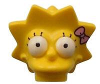 Lego Simpsons Lisa Kopf für Minifigur Figur Zubehör Serie 71009 15524pb03