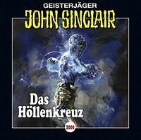 JOHN SINCLAIR-FOLGE 2000 - DAS HÖLLENKREUZ  2 CD NEU