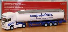 Herpa 066181, Spur N, Scania R TL Tank Sattelzug Sonderabfälle (CH)