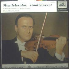 """10""""-EP MENDELSSOHN - vioolconcert, Menuhin / BP / Furtwängler"""