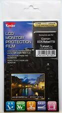 Kenko LCD Monitor Protection Film - Canon EOS Rebel T5i Camera Screen Protector