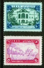 1956 IRAN / Centenario del Telegrafo in Iran 2 val. molto freschi No! lingella