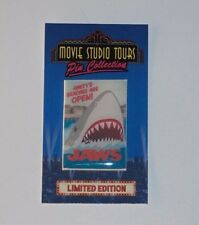 Universal Studios Tours Jaws Amity Island Beaches poster custom fantasy pin