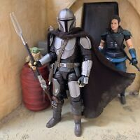 The Mandalorian Black Series & SH Figuarts Wired Cape *UK Seller*