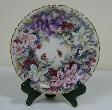 "Collectible Plates""Floral Greetings"" Circle of  Harmony"" Lena Liu"