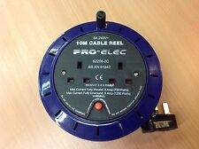 Cable Reel 10M Extension Lead 2 Gang