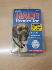 HALTI Head Collar Anti Pull Stop Pulling Kindly Size 4  - Black (M)